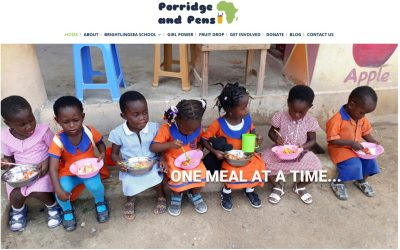Porridge and Pens charity website launched